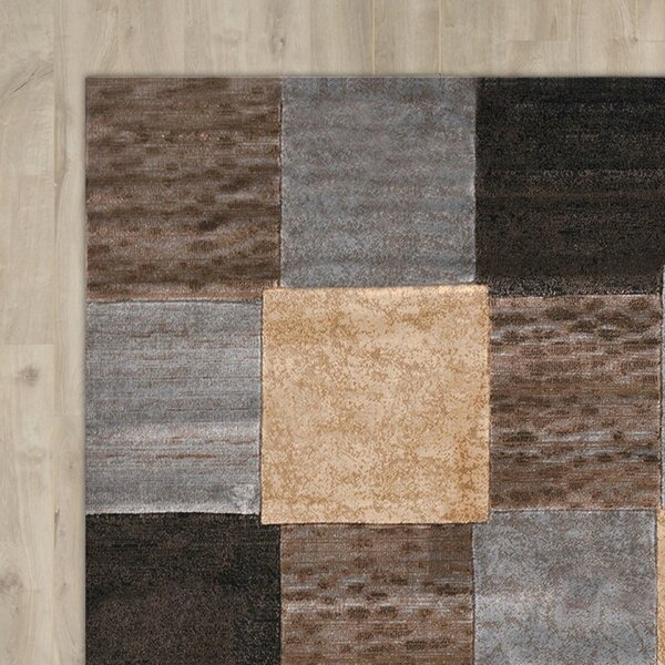 Ezekiel 3 Piece Gray/Cream Area Rug Set by Wade Logan