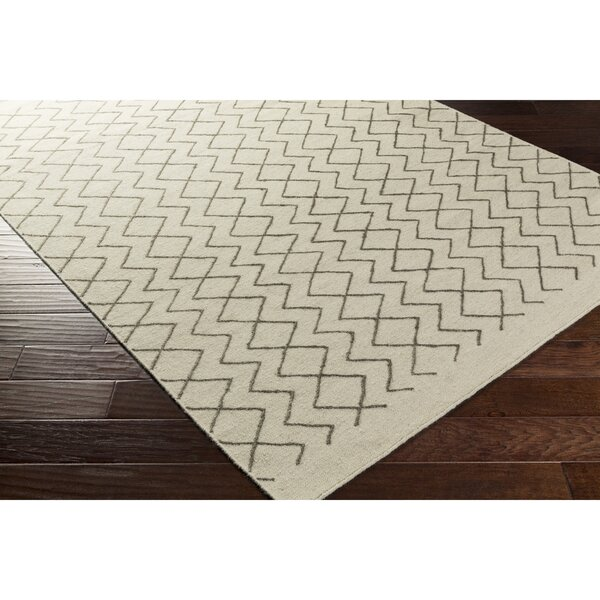 Esopus Hand-Woven Brown/Neutral Geometric Area Rug by George Oliver