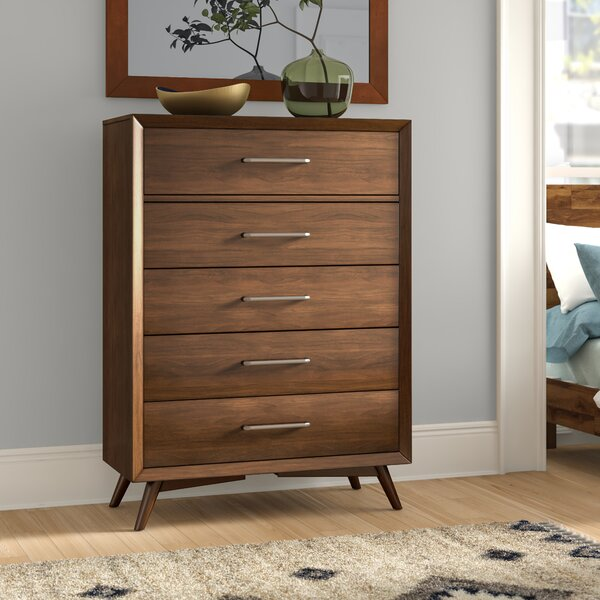 Jayce 5 Drawers Standard Chest by Wrought Studio