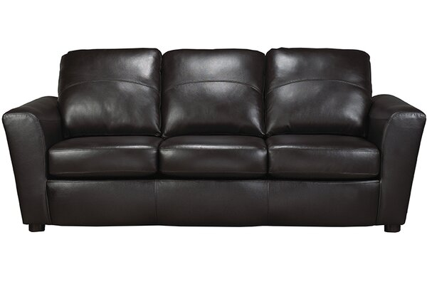Lidiya Italian Leather Sofa by Red Barrel Studio Red Barrel Studio
