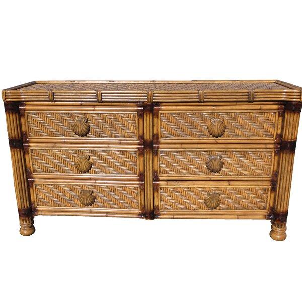 Popel 6 Drawer Double Dresser by Bayou Breeze Bayou Breeze