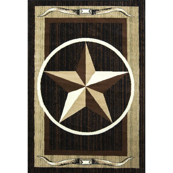 Star Brown/Beige Area Rug by Samnm Trade