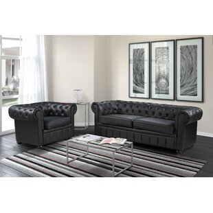 2 Piece Leather Living Room Set by Velago