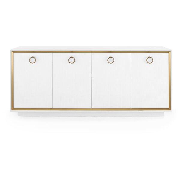 Ansel 4 Door Accent Cabinet
