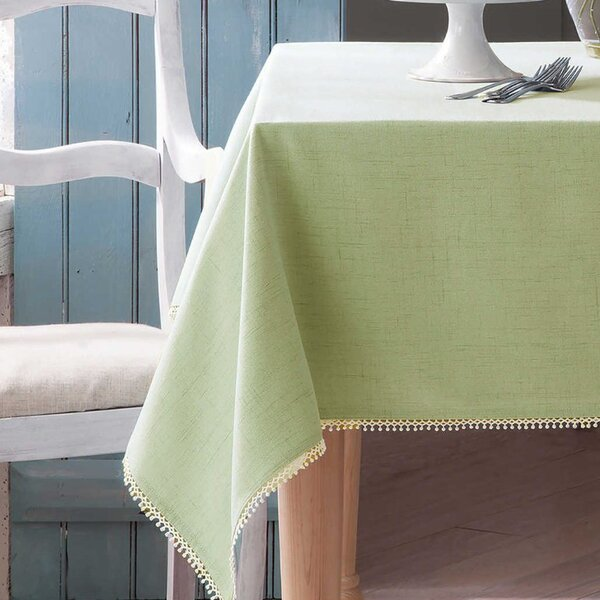 French Perles Solid Tablecloth by Lenox