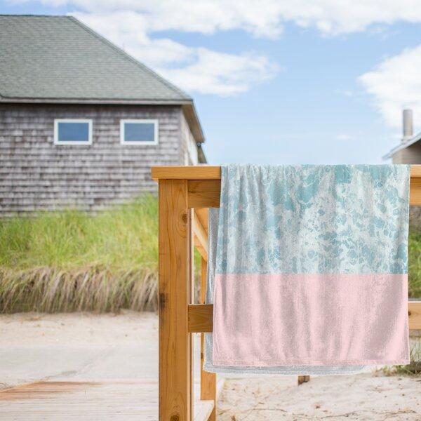 On the Sea Beach Towel by East Urban Home