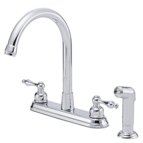 Sheridan Double Handle Kitchen Faucet with Side Spray by Danze®