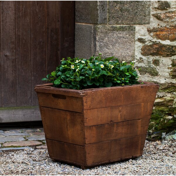 Witwicki Rectangular Cast Stone Pot Planter by Gracie Oaks