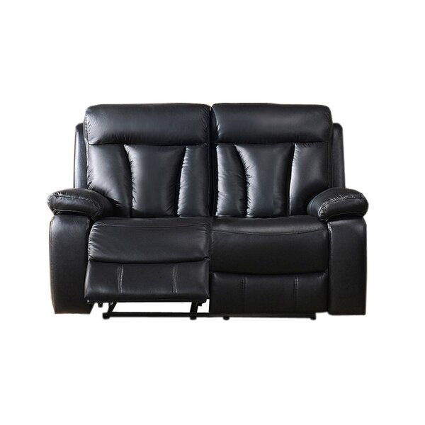 Premium Quality Muoi Reclining Loveseat by Red Barrel Studio by Red Barrel Studio
