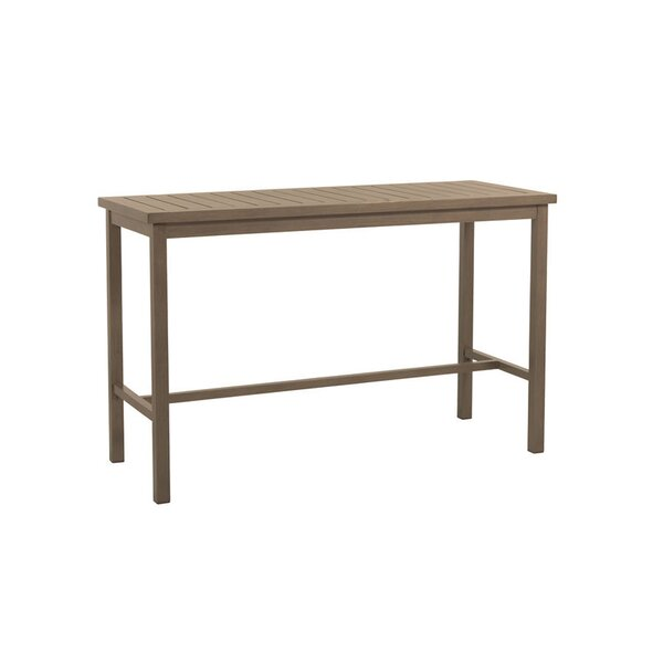 Club Aluminum Bar Table by Summer Classics Summer Classics