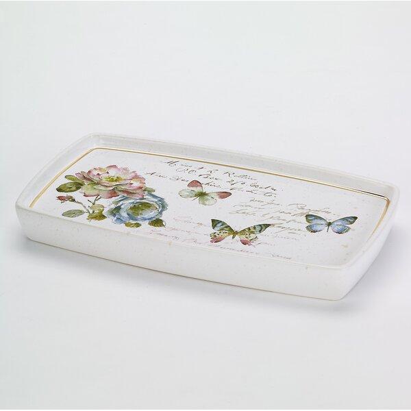 Butterfly Garden Shower Tray by Avanti Linens