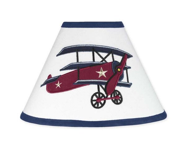Vintage Aviator 10 Latex Free Empire Lamp Shade by Sweet Jojo Designs