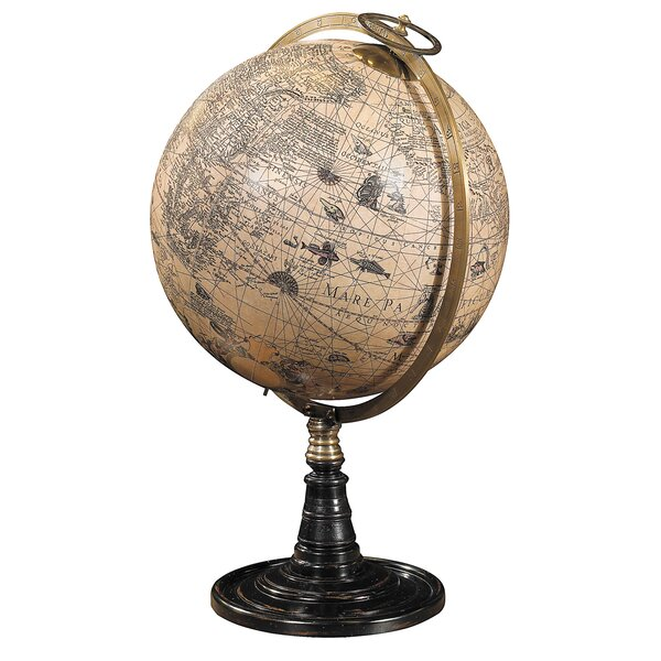 Old World Globe Stand by Authentic Models