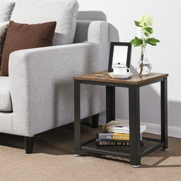 Parente 2-Tier End Table With Storage By Williston Forge Best Choices