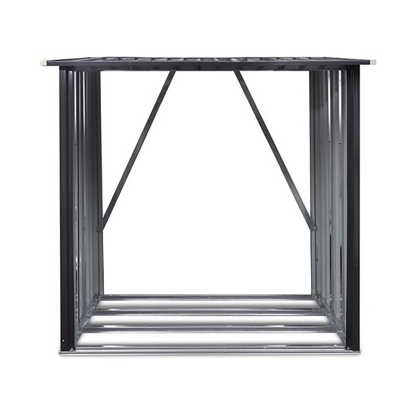 64 Ft. X 35 Ft. Metal Log Store By Hanover