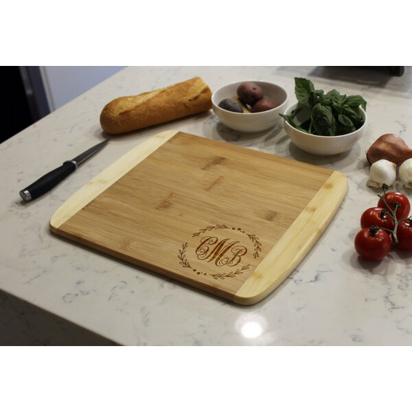 Bamboo Cutting Board by Etchey