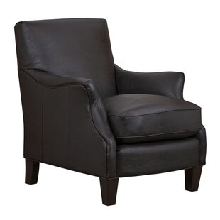 Reviews Emily Bonded Leather Armchair by Grafton Home