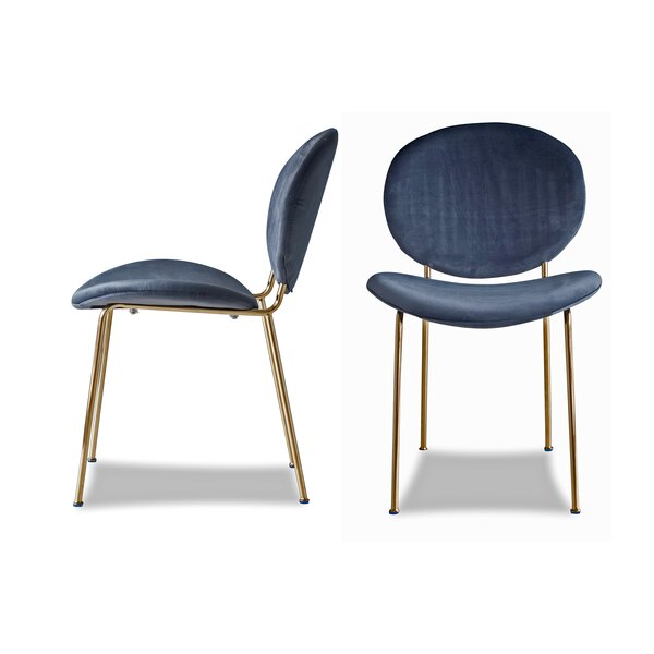 Shapiro Upholstered Dining Chair (Set of 2) by Mercer41