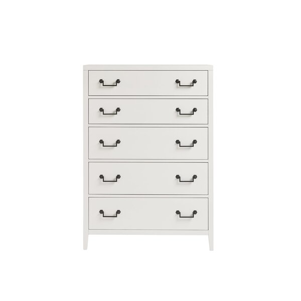 Sherie 5 Drawer Chest by Charlton Home