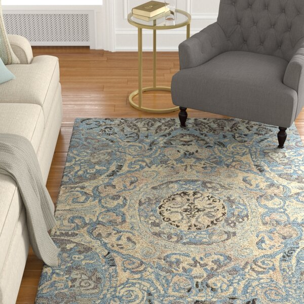 Palmer Hand-Tufted Twilight Area Rug by Astoria Grand