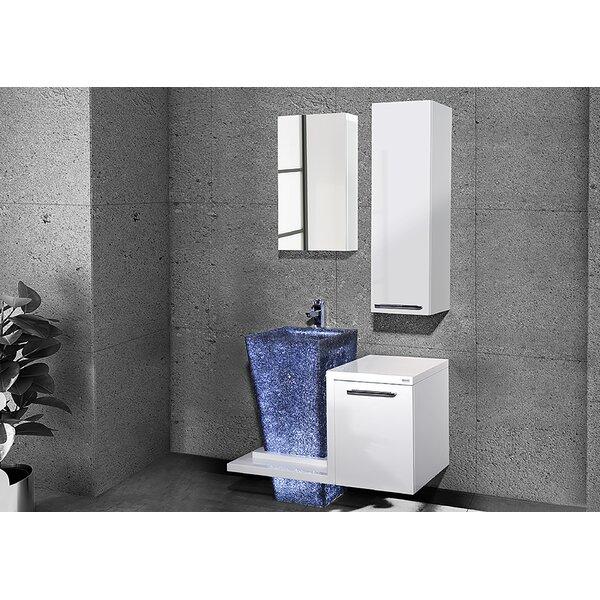Whitechapel 37 Single Bathroom Vanity Set with Mirror by Orren Ellis