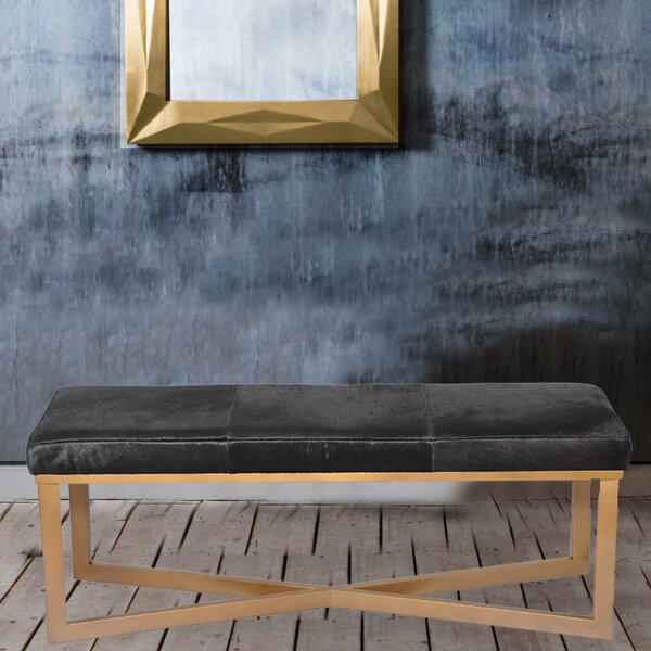 Hollywood Upholstered Bench by Fashion N You by Horizon Interseas