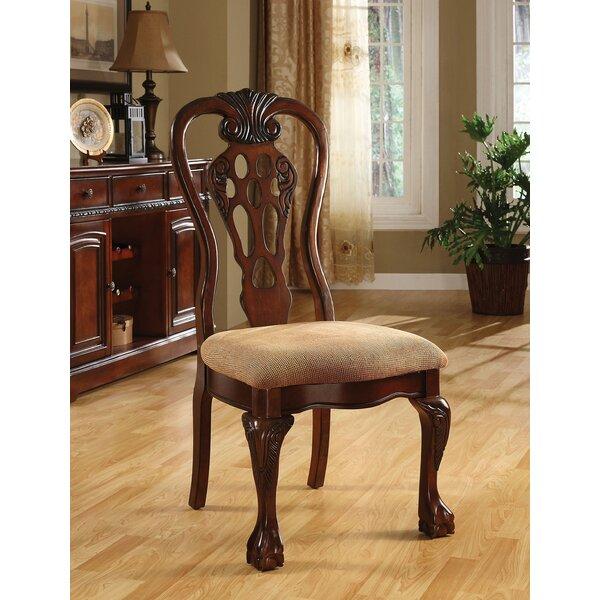 Shaffer Upholstered Dining Chair (Set of 2) by Fleur De Lis Living
