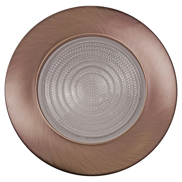 Metal Fresnel Shower 6 Recessed Trim by NICOR Lighting