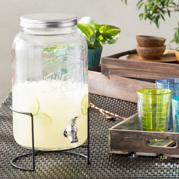 Cherie 2 Piece Beverage Dispenser Set by Laurel Foundry Modern Farmhouse