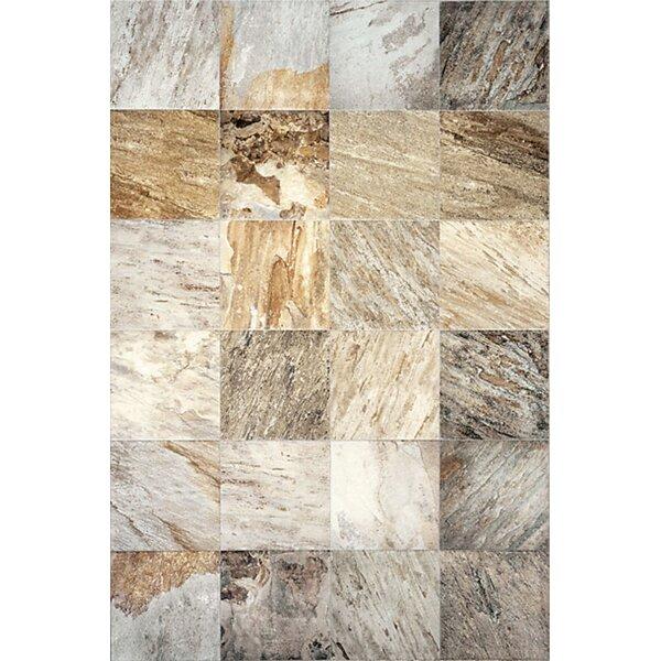 13 x 13 Ceramic Field Tile in Supremo Winter by Interceramic
