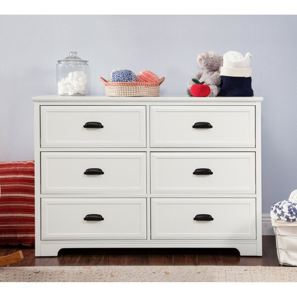 Homestead 6 Drawer Double Dresser by DaVinci