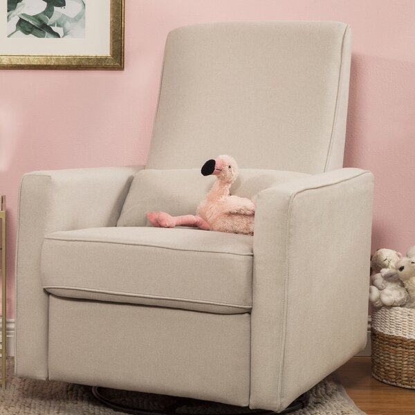 Piper Reclining Swivel Glider by DaVinci