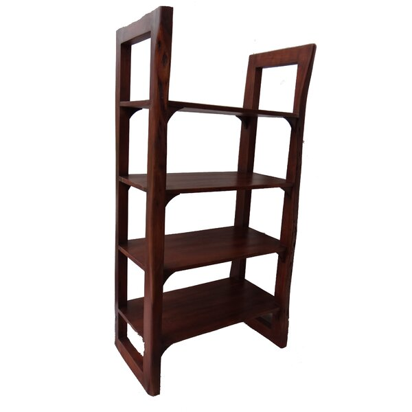 Jakarta Wooden Open Etagere Bookcase By World Menagerie