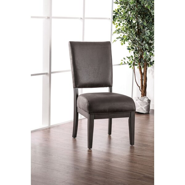 Fred Upholstered Dining Chair (Set of 2) by Millwood Pines