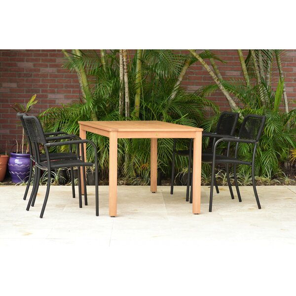 Cyr 5 Piece Dining Set (Set of 5) by Charlton Home