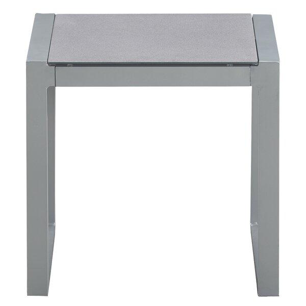 Tropez Metal Side Table by Elle Decor