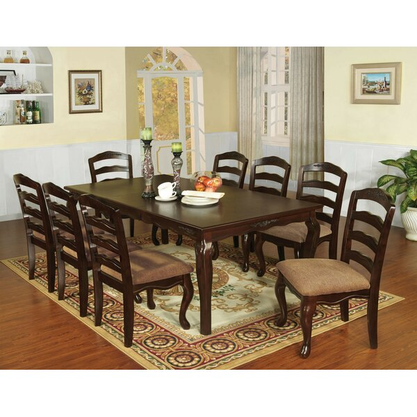 Mel 9 Piece Drop Leaf Dining Set by Canora Grey Canora Grey