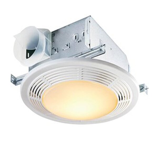 100 CFM Bathroom Fan with Light by Broan