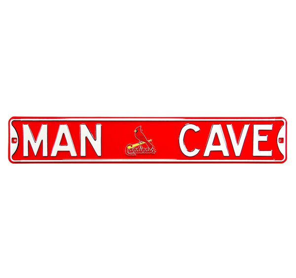 MLB Man Cave Wall Décor by Authentic Street Signs