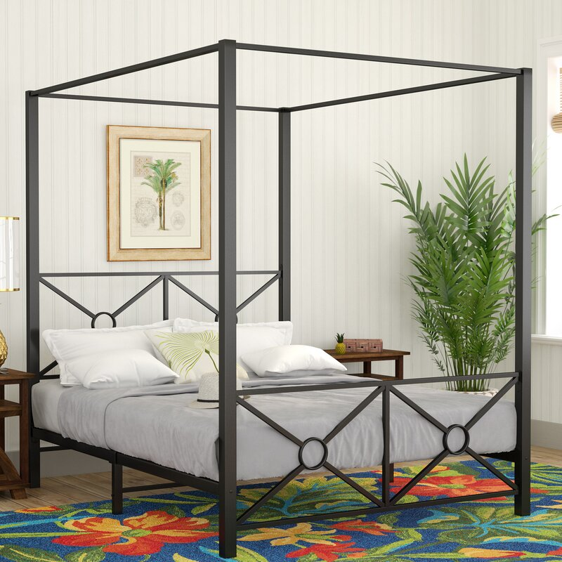 Symeon Canopy Bed & Full Size Kids Canopy Bed | Wayfair
