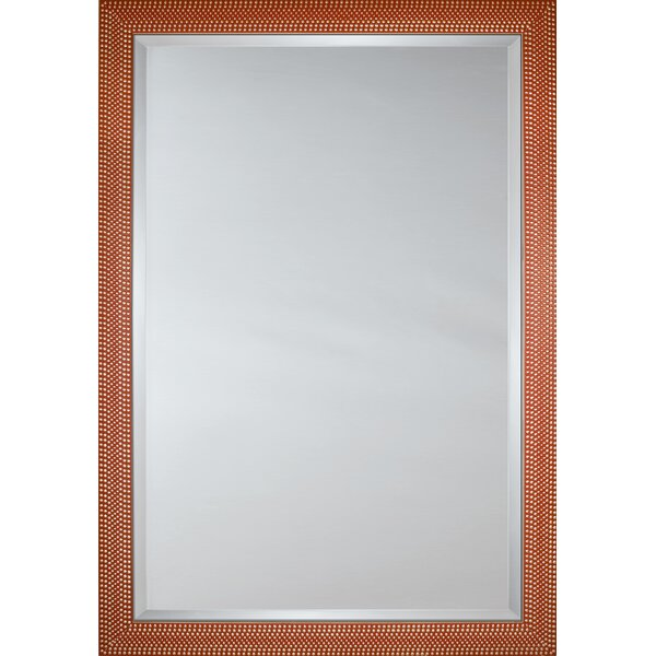 Mirror Style 81190 - Orange Silver Dots by Mirror Image Home