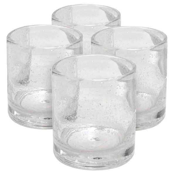 Candis Double Old Fashioned Glass (Set of 4) by Beachcrest Home