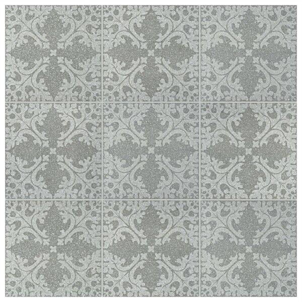 Parma Molise 11.5 x 11.5 Porcelain Field Tile in Grafito by EliteTile