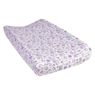 Reviews Marisha Llama Friends Deluxe Flannel Changing Pad Cover ByHarriet Bee