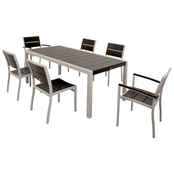 Surf City 7 Piece Dining Set by Trex Outdoor