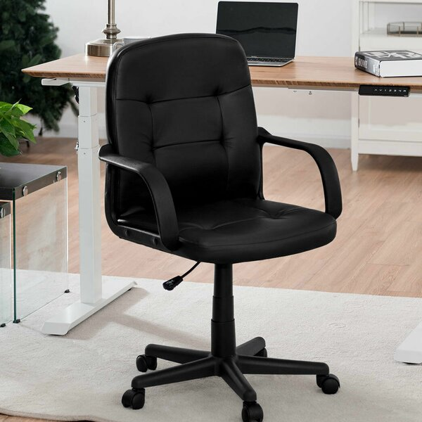 Awesome Leola Mid Back Swivel Task Chair By Symple Stuff Evergreenethics Interior Chair Design Evergreenethicsorg