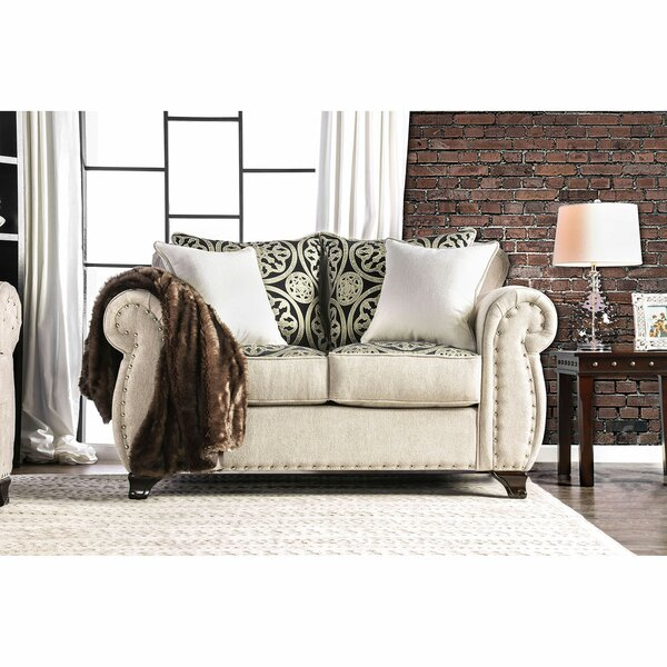 Gatun 68'' Rolled Arms Loveseat By Darby Home Co