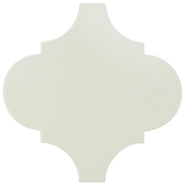 Beacon 8 x 8 Porcelain Mosaic Tile in White by EliteTile