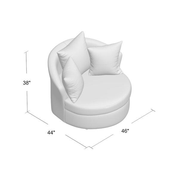 Dewitt Barrel Chair by Andover Mills Andover Mills