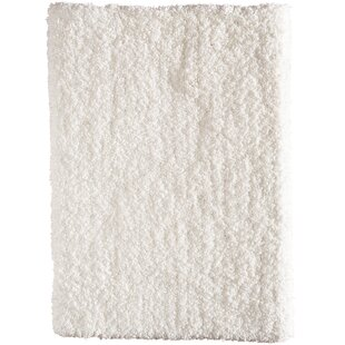 Deals Voorhees Hand-Tufted Snow White Area Rug By Gracie Oaks